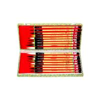 Eighteen Buddha Chinese Art Brushes Set