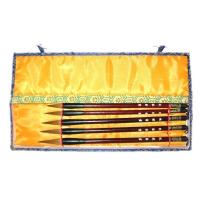 Chinese Set of Five Art Brushes