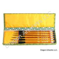 Wolf Hair Bristle Chinese Art Brush Set