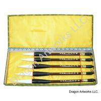 Sheep Hair Bristle Fine Art Brush Set