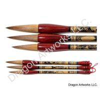 Exquisite Wolf Hair Art Brush Set