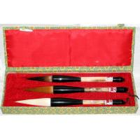 Large Chinese Art Brush Set of Three Brushes